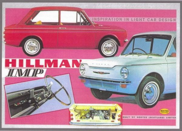 Hillman Imp montage