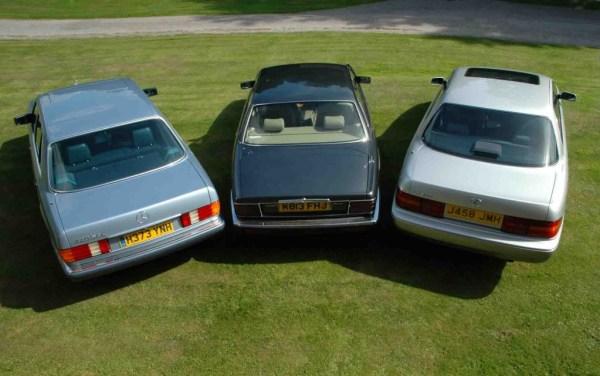 Mercedes-420SEL-Jaguar-XJ6-oraz-Lexus-LS400
