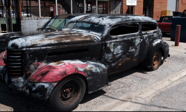 Oldsmbile 1937 hot rod fq
