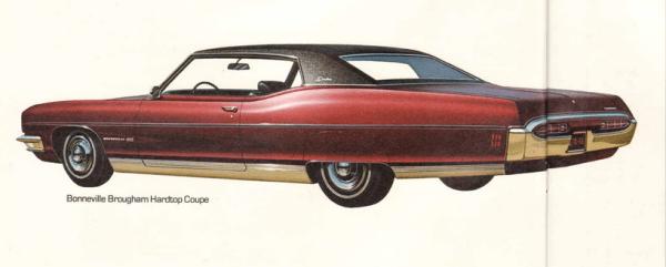 Pontiac Brougham 1970 coupe