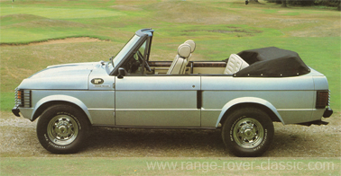 Range Rover Wood & Pickett Goodwood Convertible Sheer Rover 1 W
