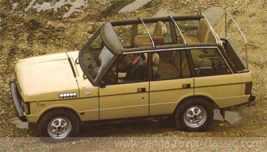 Range Rover Wood & Pickett Newbury Falcon Sheer Rover 1 W