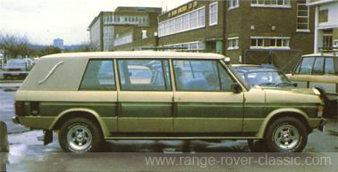 Range Rover Wood & Pickett Windsor Sheer Rover 1 W