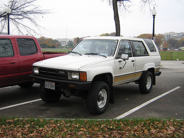 Cars Of A Lifetime 1989 Toyota Hilux Surf 4runner A Walk On The