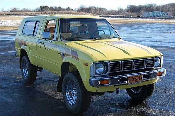 Cars Of A Lifetime 1989 Toyota Hilux Surf 4runner A
