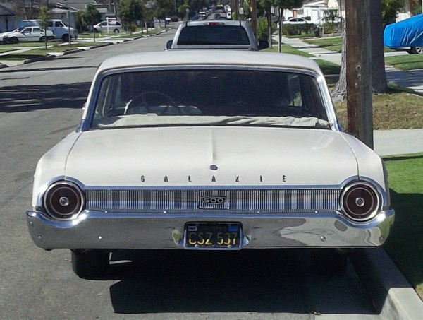 1962 Ford Galaxy 500 rear