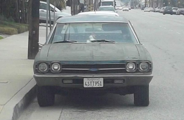 1969 Chevelle front view