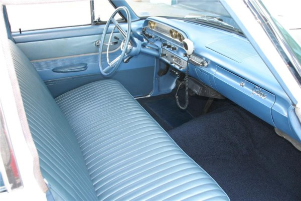62 Ford interior