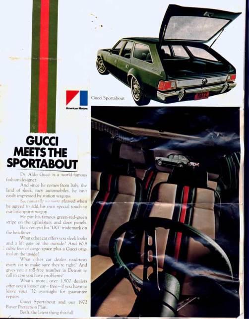 AMC Hornet Sportabout_Gucci
