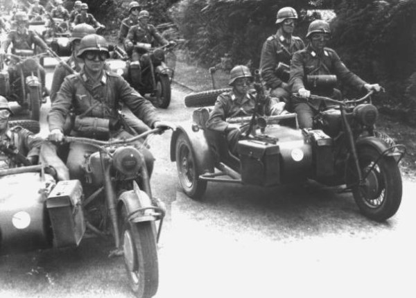 BMW R75s Hermann Goering Panzer Division