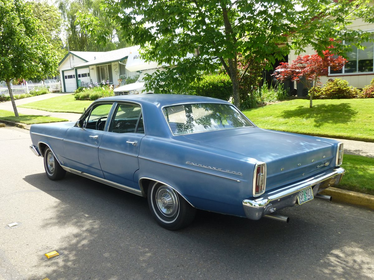 1966 Ford Falcon Futura 4 Door