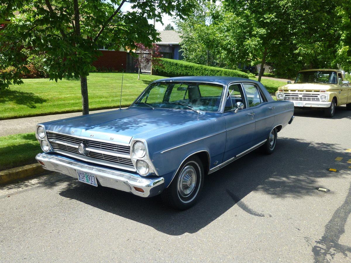 CC Capsule: 1966 Ford Fairlane 500 Sedan – A Fresh New Face In The