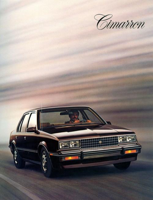Cadillac cimarron 1982 3
