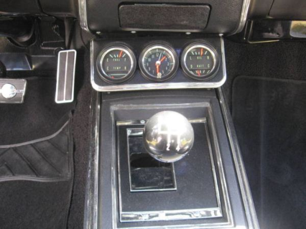 Camaro 1967 gauges