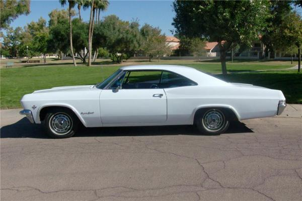 Chevrolet 1965 Impala coupe side