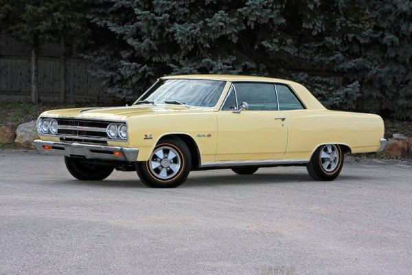 Chevrolet Chevelle 1965 Z16 Yellow
