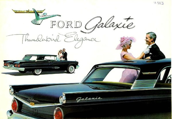 Ford 1959 roof
