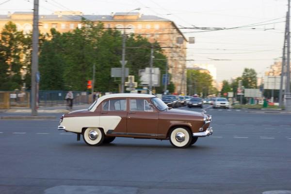 GAZ Volga brown tan LDeren