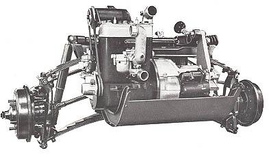 Goliath GP-700 (Borgward Group) Driveline