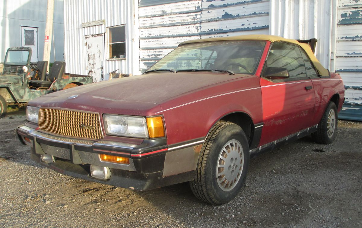 Curbside Classic: Cadillac Cimarron D'Oro Convertible – This Little Piggy  Went To Market