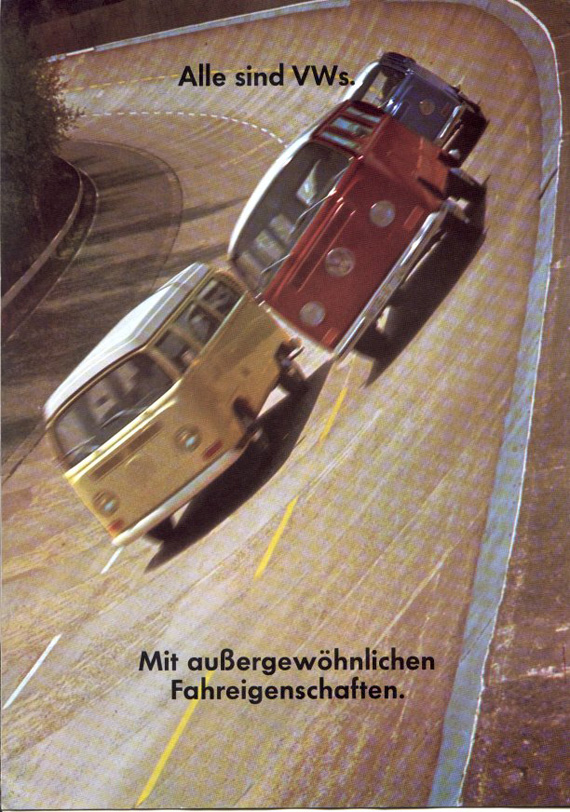 VW Bus T2 high speed
