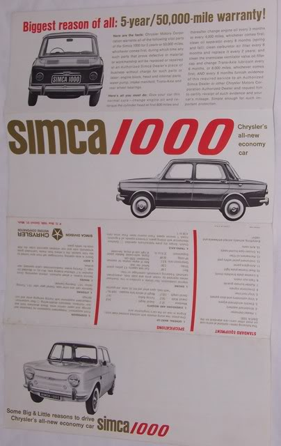 simca 1000 ad  ph