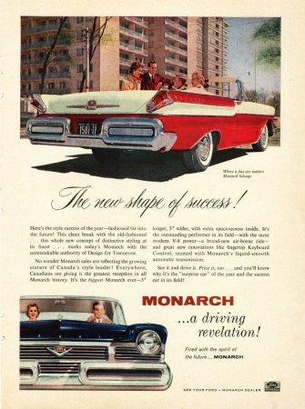 1957 Monarch Ad