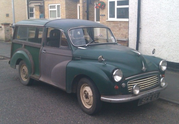 1957 Morris Minor travellor