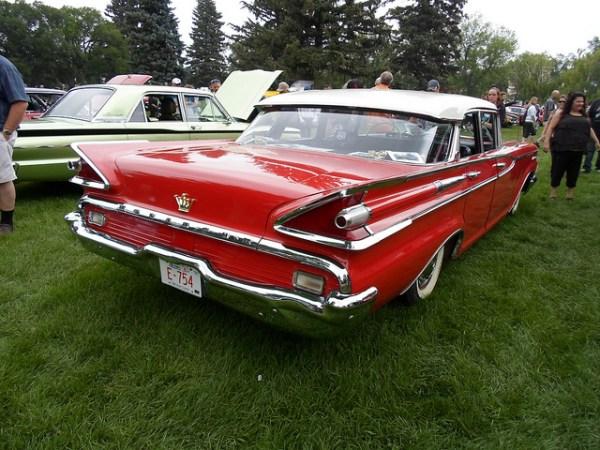1959 Monarch II Lucerne rear