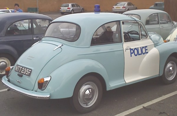 1968 Morris Minor police car
