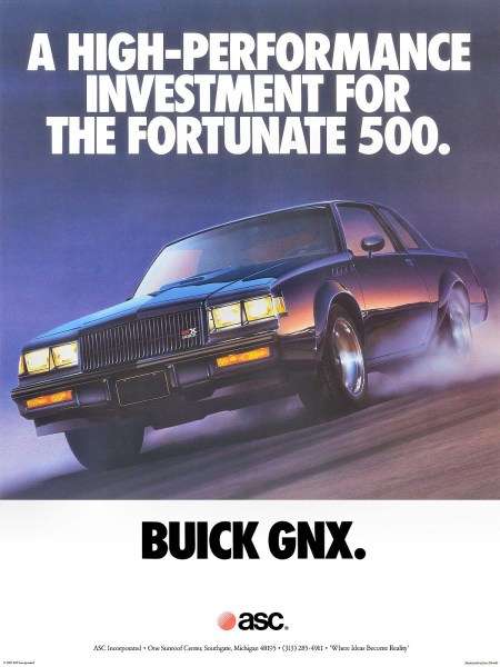 1987 Buick GNX Poster-01