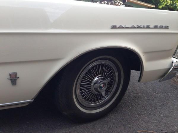 Ford 1965 Galaxie 500 convert badge