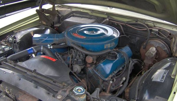 Ford FE 1970 LTD_390_engine