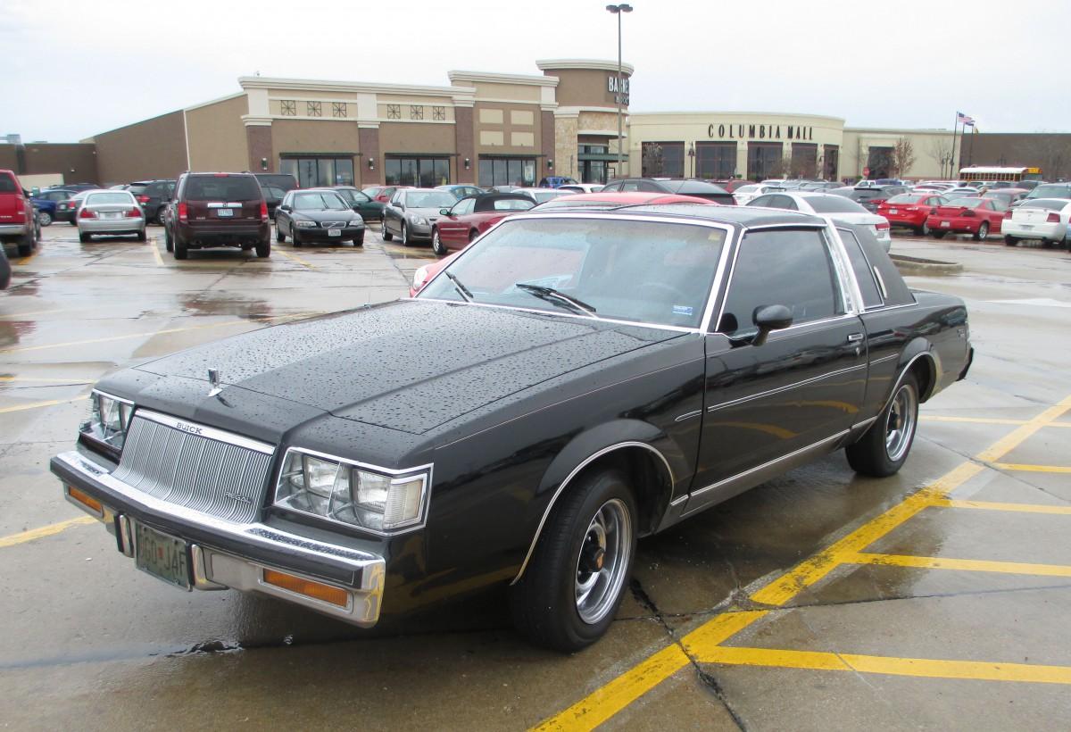 curbside classic 1986 buick regal limited rhapsody in black curbside classic curbside classic 1986 buick regal