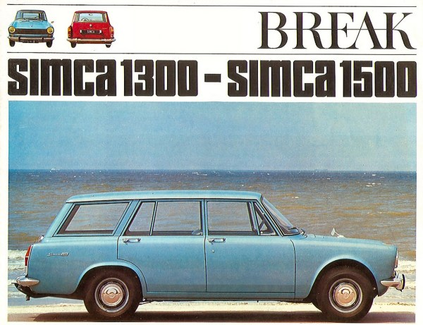 Simca 1300 Break brochure
