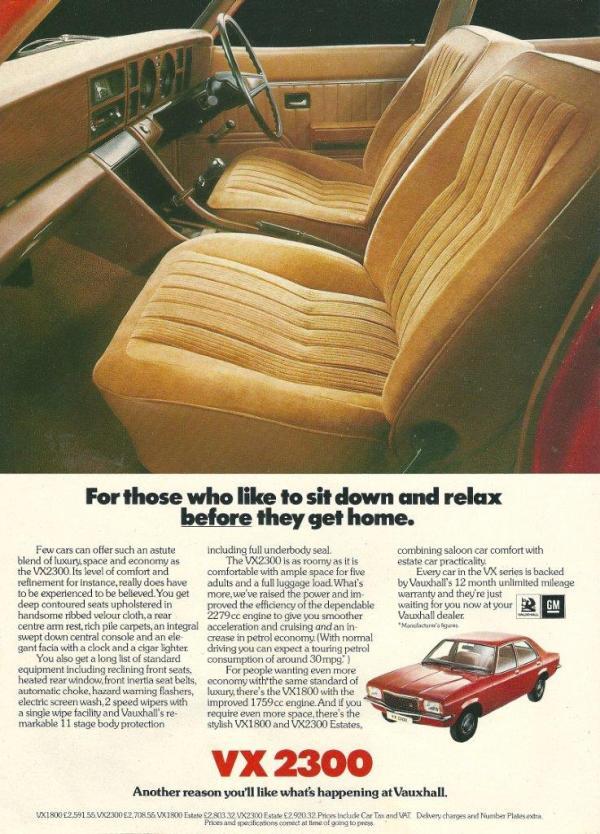 VX2300 FE advert 1976.1