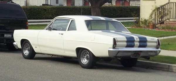 1967 Mercury Comet Rear three quarter