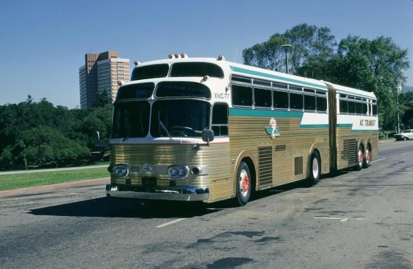 Articulated bus 1958 Eagle FreewayTrainxmc-77