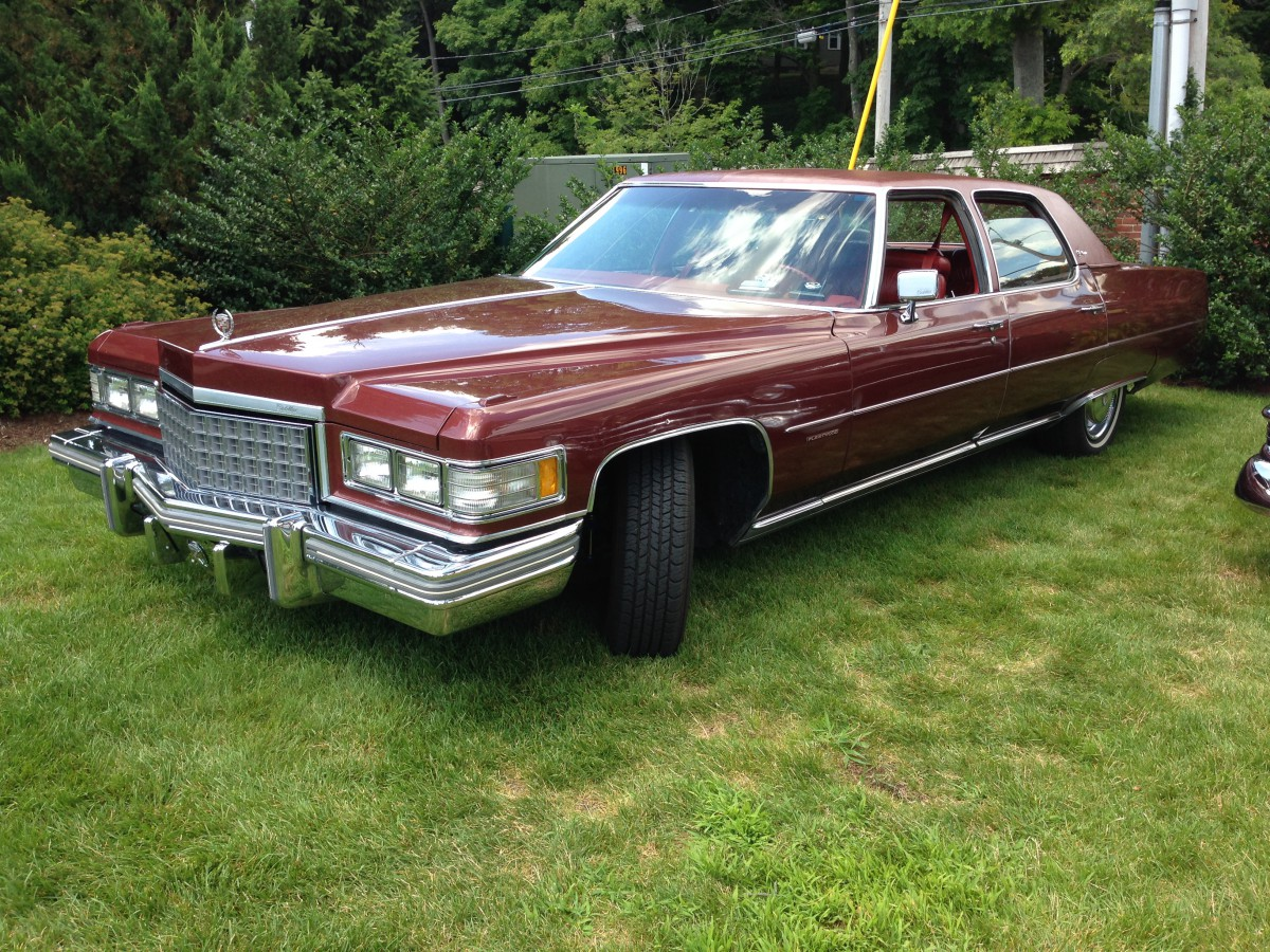 Cadillac Fleetwood Brougham 1974-1976 Fits Coupe Deville Rear Trunk Lice...