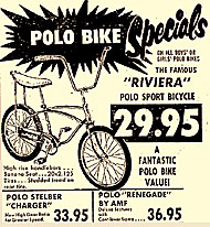 A high riser, even called a polo bike after the seat.