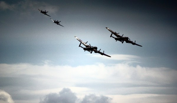 lancasters with BBMF