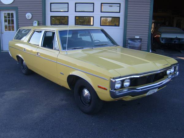 Craigslist Find: 1971 AMC Matador Wagon – Vacay Catch Of The Day
