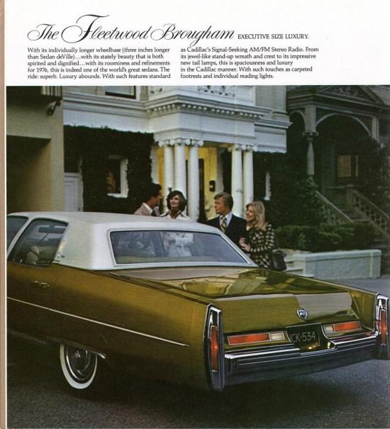 Car Show Classic: 1976 Cadillac Fleetwood Brougham