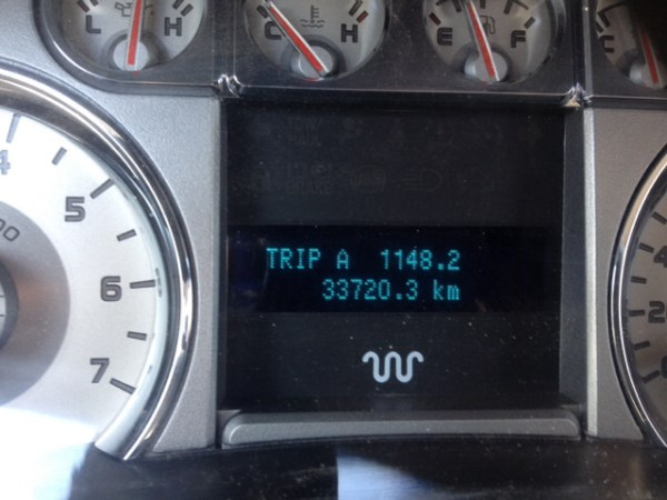 2009 odometer with trip