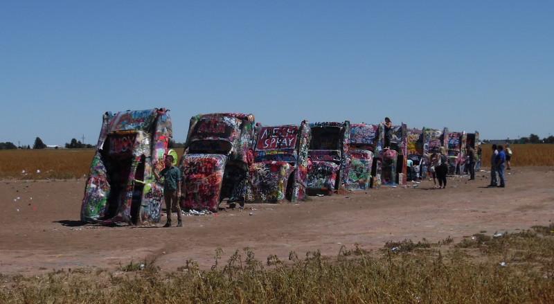 Car Art Cadillac Ranch On Route 66