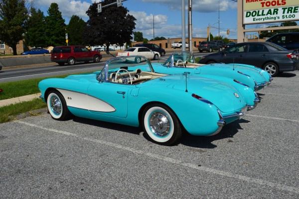 Corvette 1957 2 rq
