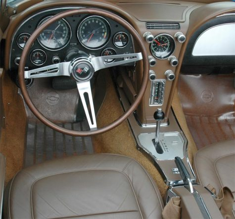 Corvette 1967 automatic shifter