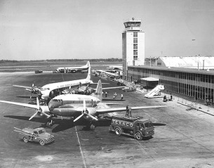 New Orleans 1959 airport