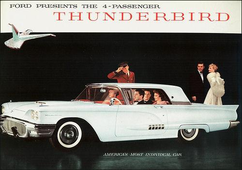 Thunderbird 1958 ad