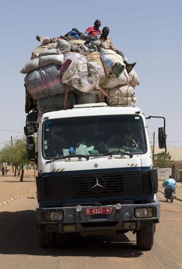 africa Mercedes truck getty mali_3023024k